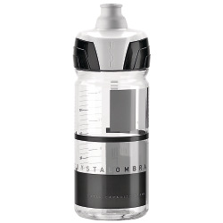 Elite Bidon Crystal Ombra transparent-grau