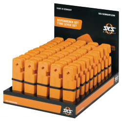 SKS Display-Pneuhebelset orange