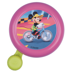 Widek Kinderglocke Mickey Mouse Stahl rosa