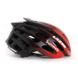 LAZER Unisex Road Z1 Helm Team Sunweb19 red mit Stickers
