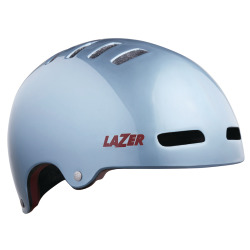 LAZER Unisex City Armor Helm silver red