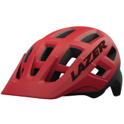 LAZER Unisex MTB Coyote MIPS Helm matte red black