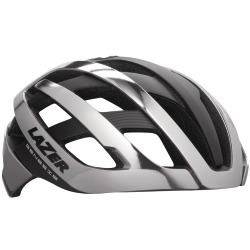 LAZER Unisex Road Genesis Helm chrome