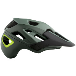 LAZER Unisex MTB Jackal MIPS Helm matte dark green flash yellow