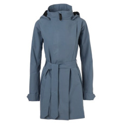 AGU Woman Urban Outdoor Trench Coat dusty blue