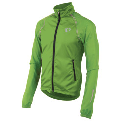 PEARL iZUMi ELITE Barrier Convertible Jacket screaming green
