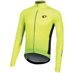 PEARL iZUMi ELITE Pursuit Thermal Graphic Jersey screaming yellow diffuse