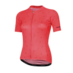 PEARL iZUMi W ELITE Pursuit SS Graphic Jersey atomic red wish