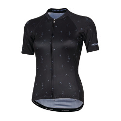 PEARL iZUMi W ELITE Pursuit SS Graphic Jersey black lavender wish