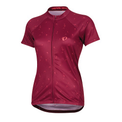 PEARL iZUMi W SELECT Escape SS Graphic Jersey beet red wish