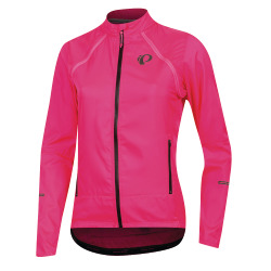 PEARL iZUMi W ELITE Escape Convertible Jacket screaming pink