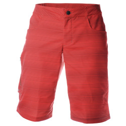 PEARL iZUMi Canyon Print Short torch red russet stripe