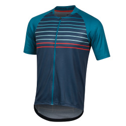 PEARL iZUMi Canyon Graphic Jersey teal navy slope