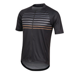 PEARL iZUMi Canyon Graphic Jersey black berm brown slope