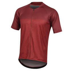 PEARL iZUMi Canyon Graphic Jersey russet torch red static