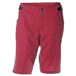 PEARL iZUMi W Launch Print Short beet red flicker