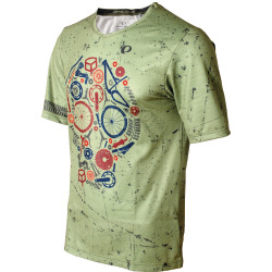 PEARL iZUMi MTB LTD Launch Jersey skull willow