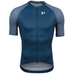 PEARL iZUMi Interval Jersey navy white bevel