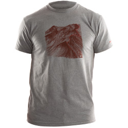 PEARL iZUMi GPHC T heather grey mountain