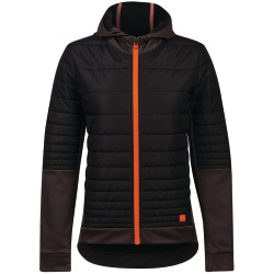 PEARL iZUMi W Elevate Insulated SFSH JKT black phantom