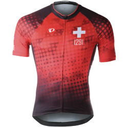 PEARL iZUMi ELITE Interval LTD Jersey Suisse Edition 2.0 red