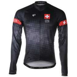 PEARL iZUMi ELITE Thermal LS Jersey SF Suisse Edition 2.0 black