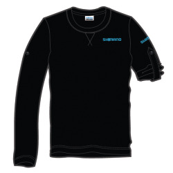 Shimano Workshop Shirt long sleeve blau schwarz