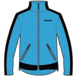 Shimano Workshop Softshell Jacket blau schwarz