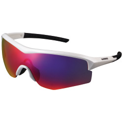 Shimano Unisex Brille Spark ML metallic white