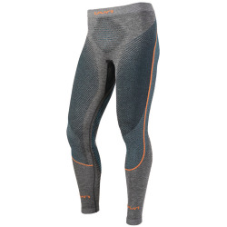 UYN Man Ambityon Pants long black melange / atlantic / orange shiny