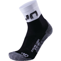 UYN Lady Cycling Light Socks black / white