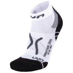 UYN Lady Run Marathon Zero Socks white / grey