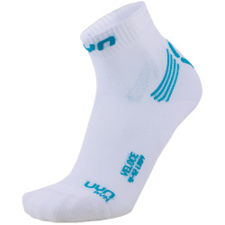 UYN Lady Run Veloce Socks white / turquoise