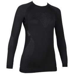 UYN Lady Fusyon Shirt long sleeve black / anthracite / anthracite