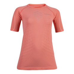 UYN Lady Run Activyon Shirt short sleeve coral / anthracite