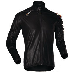 X-BIONIC Men Bike Wind Jacket long slv black antra